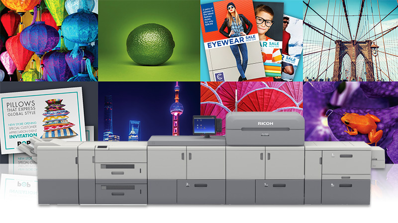 Take a look at Ricoh Production